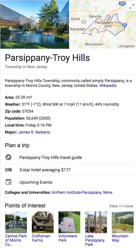 parsippany